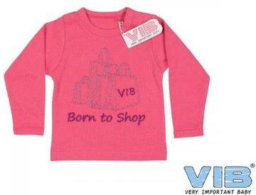 VIB Shirt Born To Shop