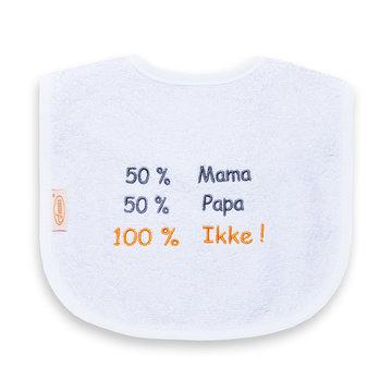 Slab Funnies 50% mama, 50% papa, 100% ikke