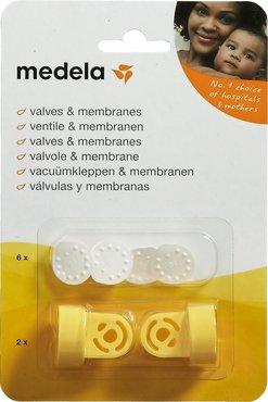 Medela vacuumset - 2 klephuizen - 6 membranen