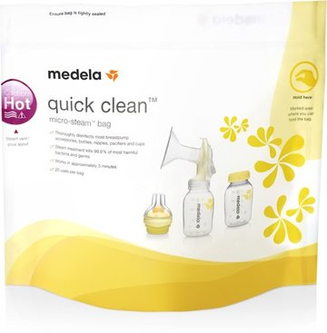 Medela Quick Clean - magnetronzak - 5 stuks